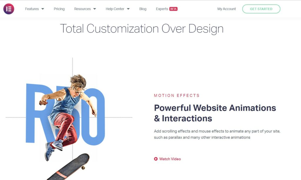 Elementor Website Builder WordPress Plugin